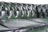 Chesterfield Original 3-Seat Sofa Wash Off Green_