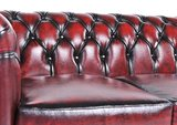 Chesterfield Original 3-Seat Sofa Wash Off Red_