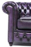 Chesterfield Original 5-seat Sofa Wash Off Purple_