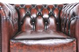 Chesterfield Original Armchair Wash Off Brown_