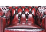 Chesterfield Original Armchair Wash Off Red_
