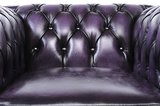 Chesterfield Original Armchair Wash Off Purple_
