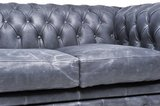 Chesterfield Vintage 2-seat Sofa Black_
