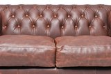 Chesterfield Vintage 4-seat Sofa Brown_