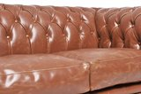 Chesterfield Vintage 4-seat Sofa Mocca_