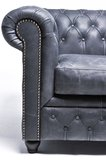 Chesterfield Vintage 4-seat Sofa Black_