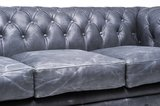 Chesterfield Vintage 5-seat Sofa Black_