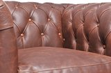 Chesterfield Vintage Armchair Brown_