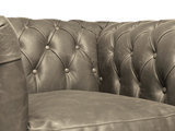 Chesterfield Armchair Vintage Leather | Alabama C1057 | 12 years guarantee_