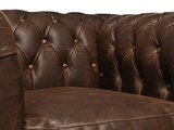 Chesterfield Sofa Vintage Leather | 2-seater  | C0871 | 12 years guarantee_
