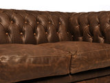Chesterfield Sofa Vintage Leather | 2-seater  | C0869 | 12 years guarantee_