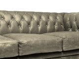 Chesterfield Sofa Vintage Leather | 3-seater  | Alabama C1057 | 12 years guarantee_