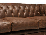 Chesterfield Sofa Vintage Leather | 3-seater  | C0869 | 12 years guarantee_