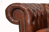 Chesterfield Sofa Class Leather | 2-Seater | Cloudy Brown Old | 12 jaar Guarantee_