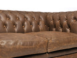 Chesterfield Sofa Vintage Leather | 1 + 2 + 3 seater  | Alabama C1059 | 12 years guarantee_