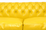 Chesterfield Sofa Original Leather | 2 + 3 seater  | Yellow | 12 years guarantee_