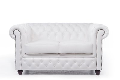 Chesterfield Original 2-Seat Sofa White