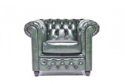 Chesterfield Original Armchair Wash Off Green