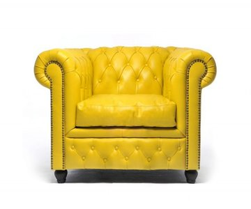 Chesterfield Original Armchair Yellow