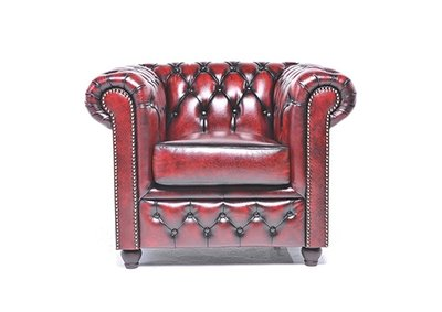 Chesterfield Original Armchair Wash Off Red