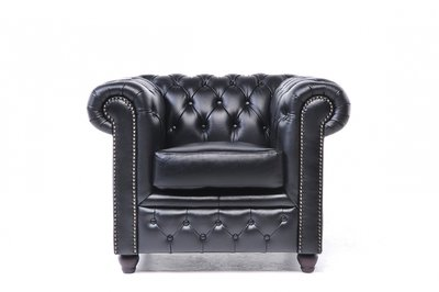 Chesterfield Original Armchair Black