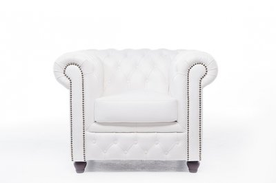 Chesterfield Original Armchair White