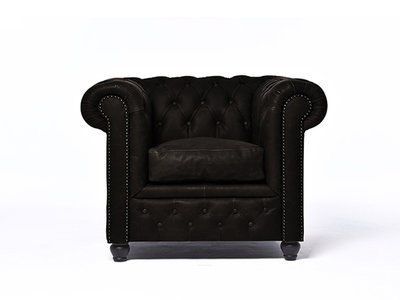 Chesterfield Armchair Vintage Leather | C0936 | 12 years guarantee